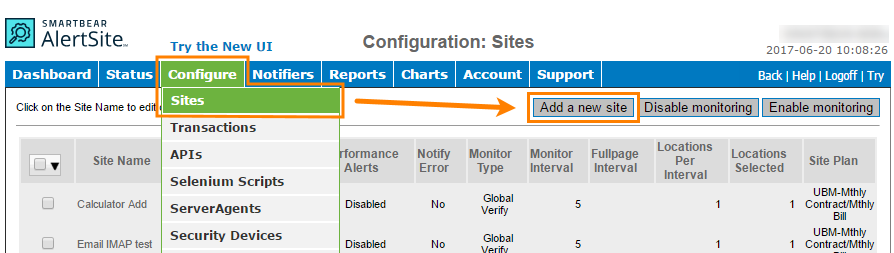 Creating an FTP Monitor | AlertSite Documentation