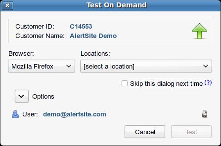 Multi-Browser Support for DéjàClick | AlertSite Documentation