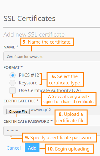 Using SSL Certificates and Java Keystores | AlertSite
