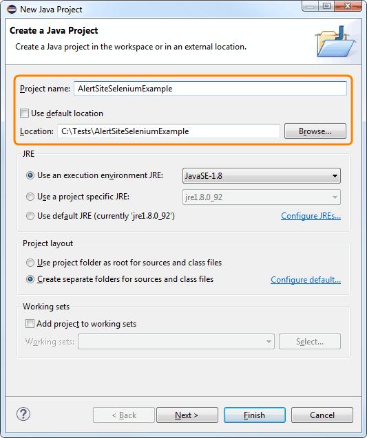 Create Runnable JAR From Selenium Script Using Eclipse