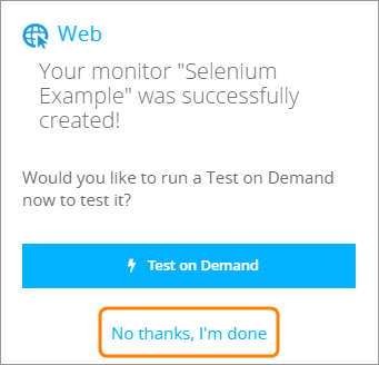 Website Monitoring With Selenium and AlertSite | AlertSite