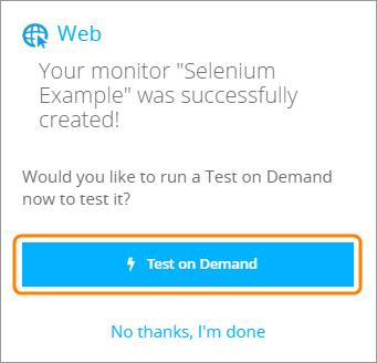 Website Monitoring With Selenium and AlertSite | AlertSite Documentation