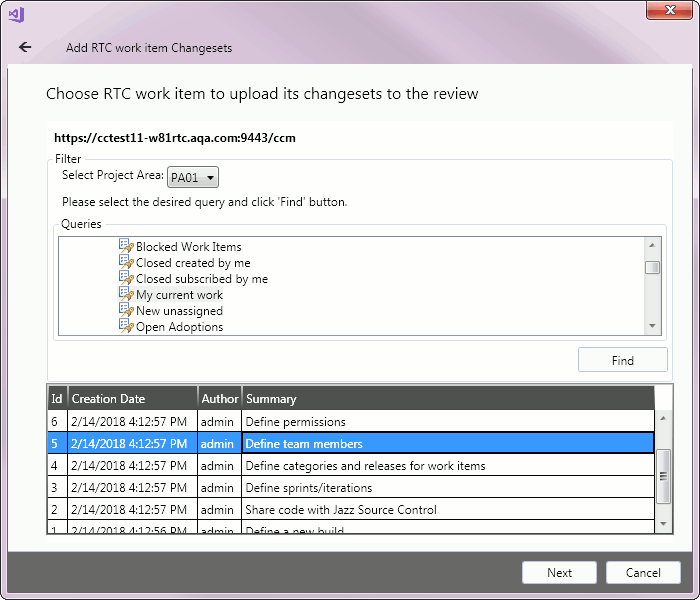 Add to Review Wizard   Collaborator Documentation