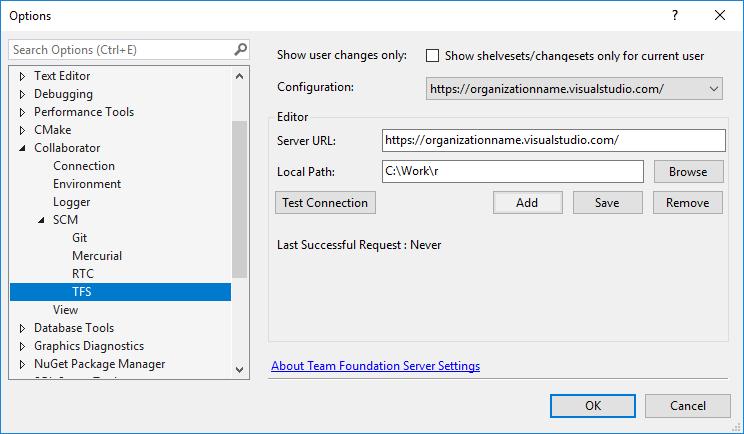Configure Visual Studio Extension | Collaborator Documentation