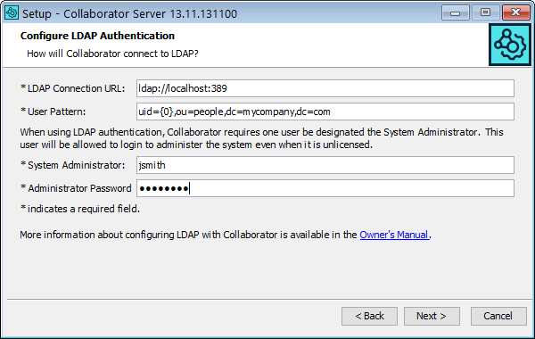 LDAP and Active Directory Authentication | Collaborator