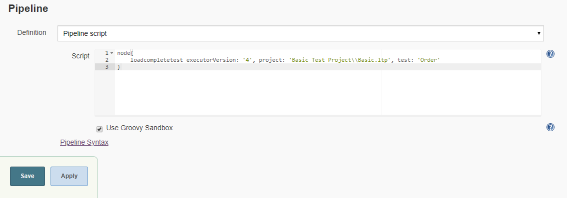 Setting Up LoadComplete Tests in Jenkins for Pipeline Jobs