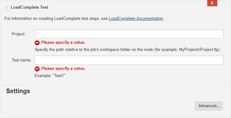 Setting Up LoadComplete Tests in Jenkins for Freestyle Jobs