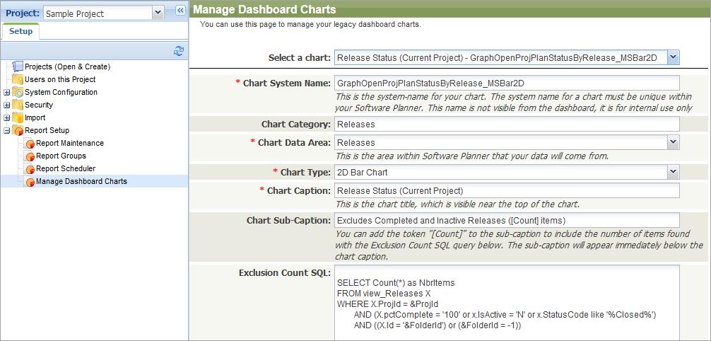 Create Custom Dashboard Charts (On-Premises Only