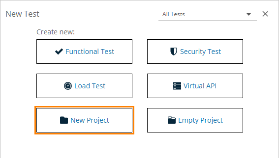 Creating Project From REST URL | ReadyAPI Documentation
