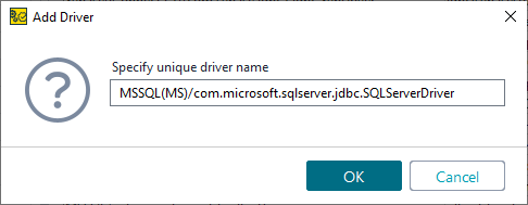 Microsoft SQL JDBC Driver | ReadyAPI Documentation