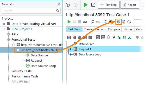 4  Run the Test | ReadyAPI Documentation