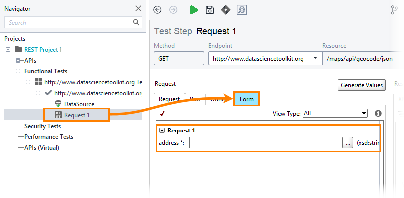 8  Insert Data Into a Request   ReadyAPI Documentation
