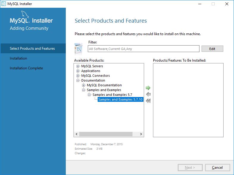 2. Installing a Sample MySQL Database | Ready! API Documentation