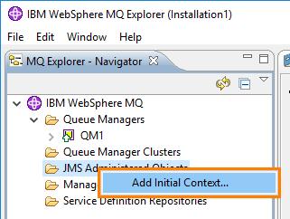 WebSphereMQ Configuration | ReadyAPI Documentation