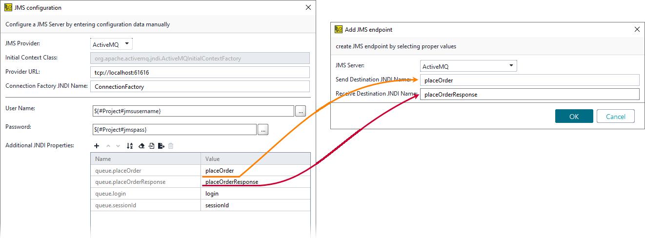 JMS Request Test Step | ReadyAPI Documentation