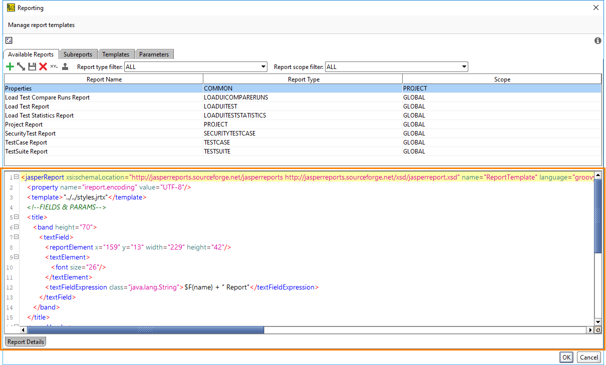 Customizing Templates Tutorial | ReadyAPI Documentation