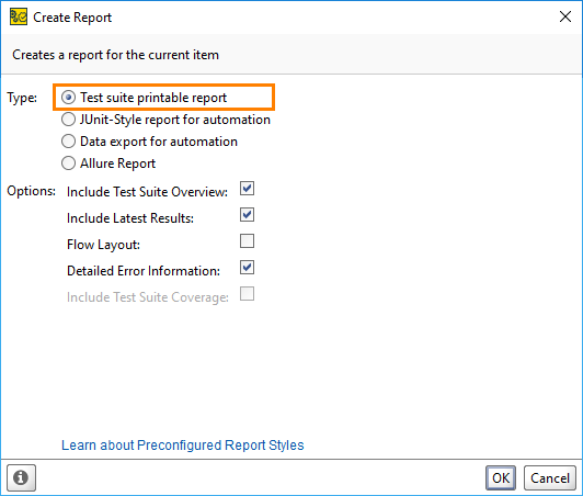 getting started with reporting documentation