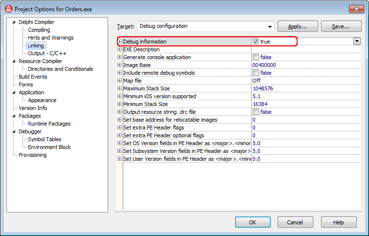 Compiling Delphi XE6, XE7, XE8 and 10 Applications With