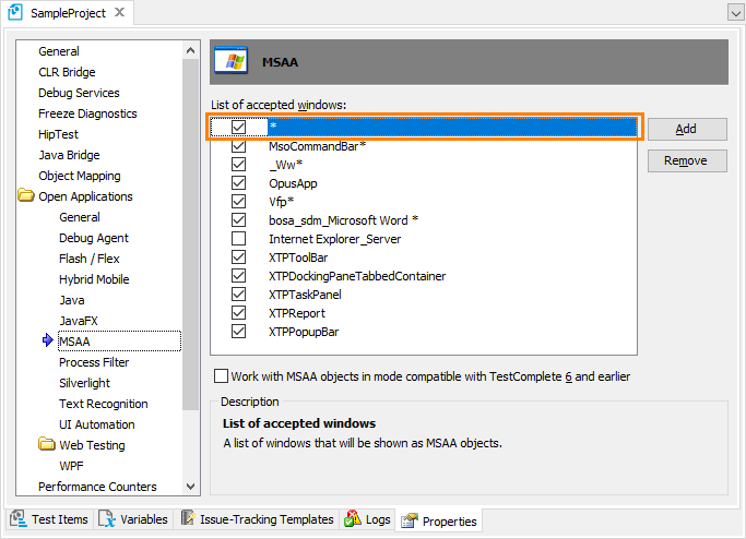 How to Test FoxPro Applications with TestComplete   TestComplete