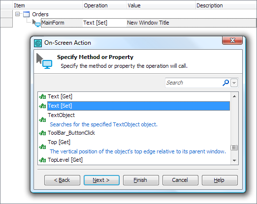 Accessing Native Properties and Methods of  NET Objects