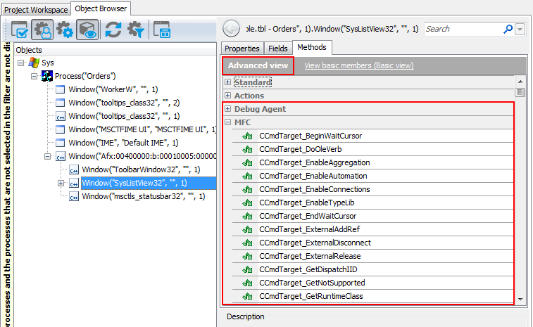 Accessing Native Properties and Methods of Visual C++