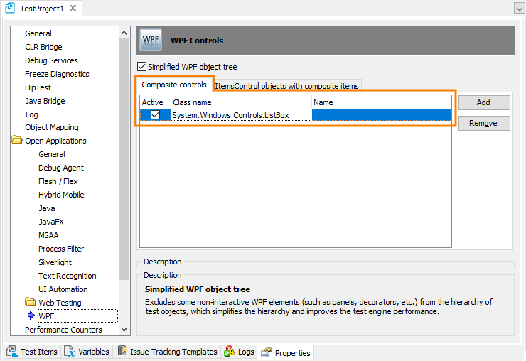 Support for wpf control templates testcomplete documentation for Wpf datagrid control template