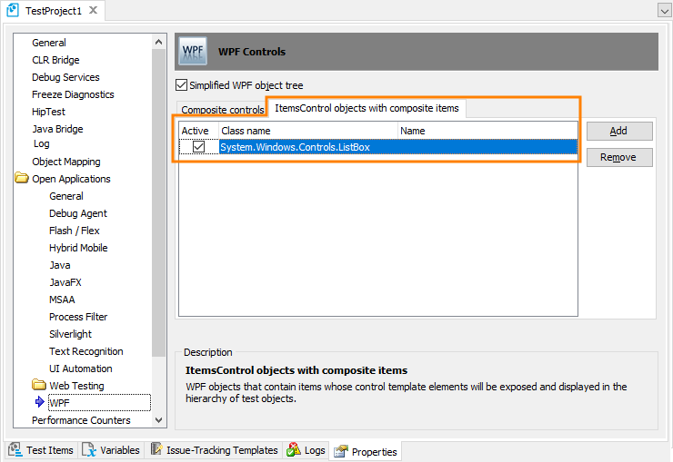 Support for WPF Control Templates TestComplete Documentation