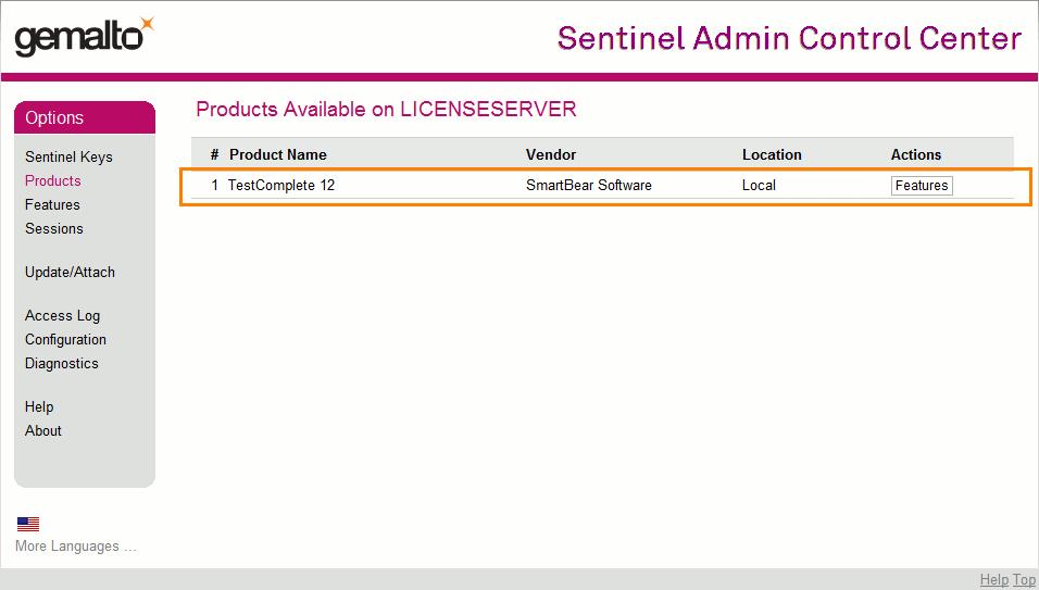 Activating Floating User License | TestComplete Documentation