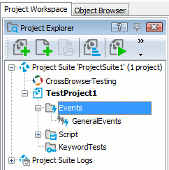 Handling Events - Overview | TestComplete Documentation