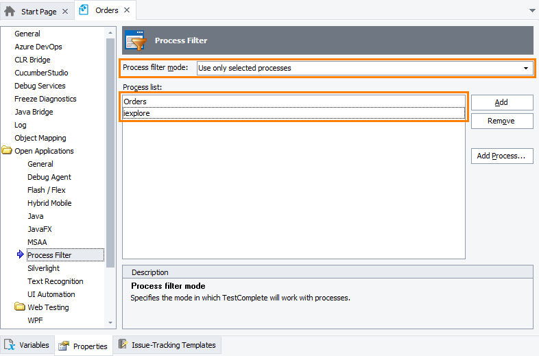Enhancing TestComplete Performance | TestComplete Documentation