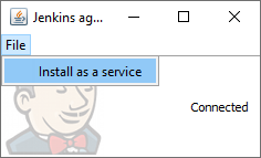 TestComplete integration with Jenkins: Installing Jenkins slave agent as Windows service