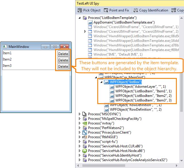 Identifying WPF Objects | TestLeft Documentation