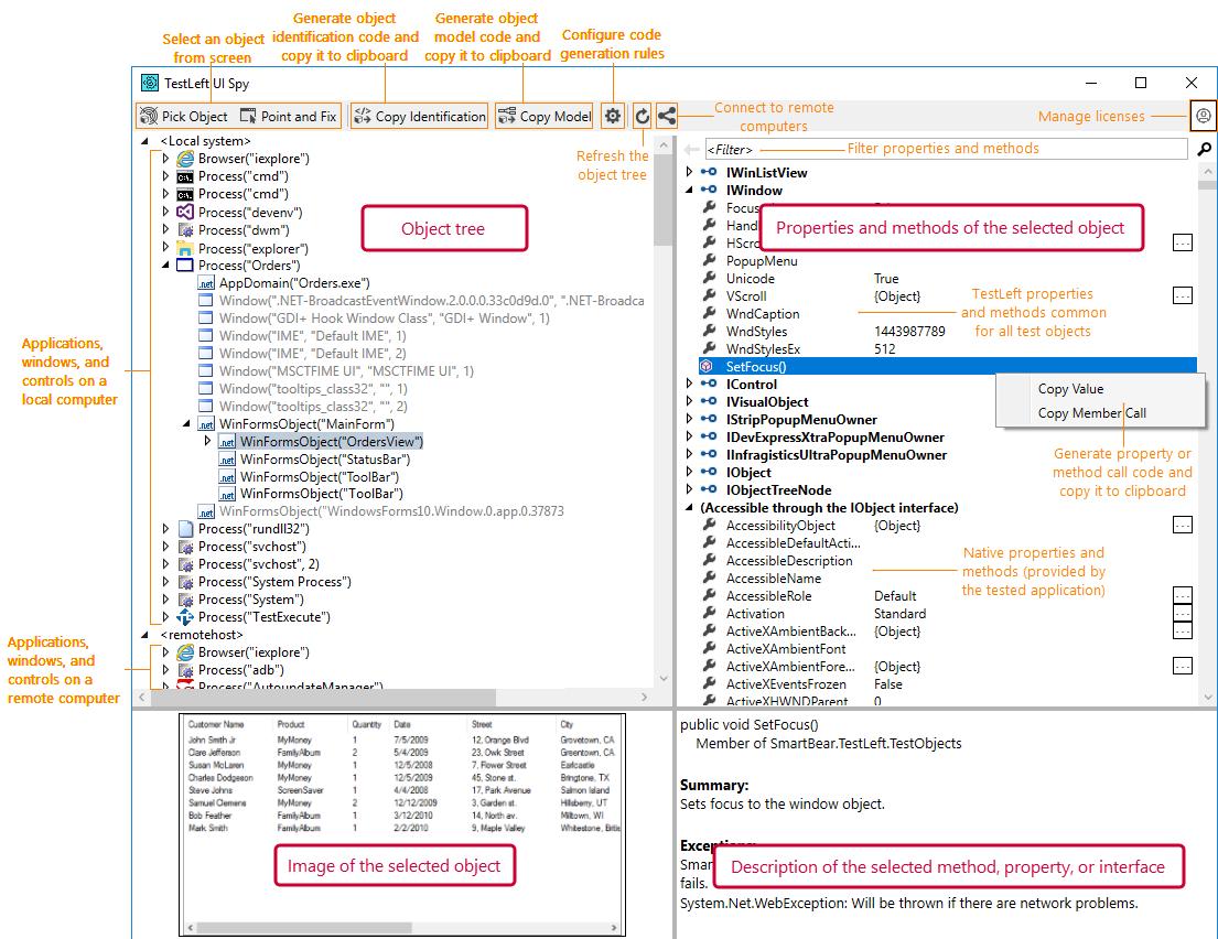TestLeft UI Spy | TestLeft Documentation
